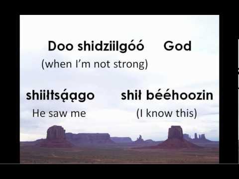 God Reached Way Below the Bottom (Navajo Lyrics)