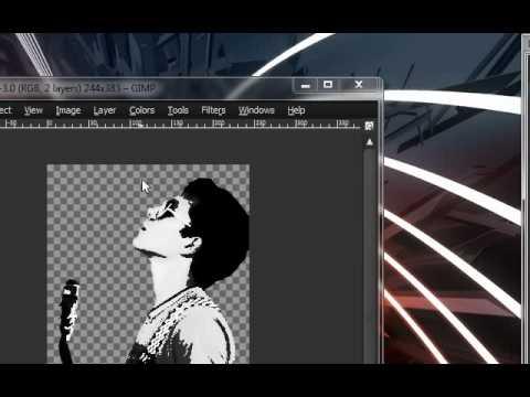GIMP - Efecto arte popular