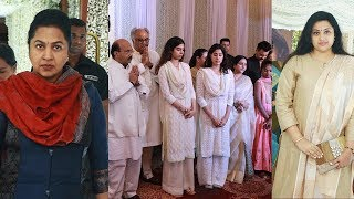 Actress Sridevi's Family Prayer Meet At Chennai Photos | Janhvi Kapoor | Kushi | Boney Kapoor - RAJSHRITELUGU