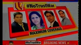 No Trust War: No-confidence hoopla on; Congress to get 38 minutes in discussion - NEWSXLIVE