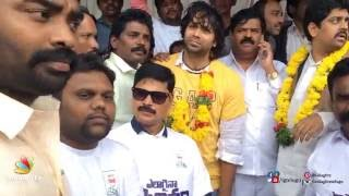 Aditya Om Hunger Strike about his movie Friend Request Theatres Increase - IGTELUGU