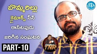 Writer Abburi Ravi Exclusive Interview Part #10 || Frankly With TNR || Talking Movies With iDream - IDREAMMOVIES