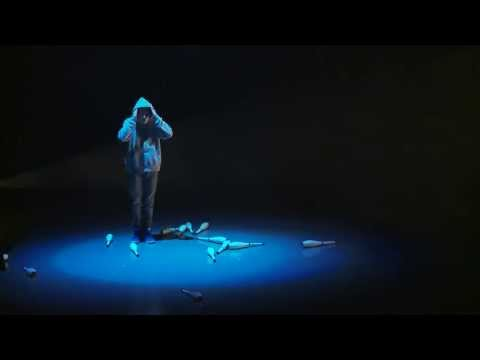 Juggling Matthew Green - 'tilT' Performed as part of the Circus Space BA Hons Degree 3rd year devised pieces,