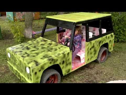 Машинки для детской площадки своими руками: фото и идеи