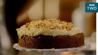 Ginger & Walnut Carrot Cake - Nigella: At My Table | Episode 3 - BBC Two - BBC