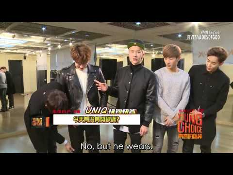 [ENGSUB]Quick Q&A of UNIQ- From Young Choice of Tudou