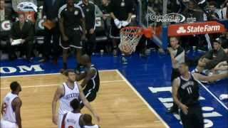 Kevin Garnett's Sweet No Look To Lopez
