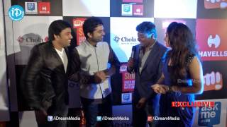 Siva, Simbu make Funny Comments@ SIIMA 2014 - Red Carpet - IDREAMMOVIES