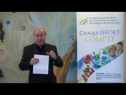 Serge Audet  conférence de press du 11 avril 2014