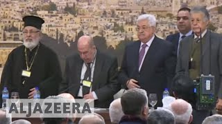 PLO Central Council recommends suspending recognition of Israel - ALJAZEERAENGLISH