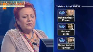 Kim Milyoner Olmak Ister 238. bölüm Yelda Karataş 17.06.2013