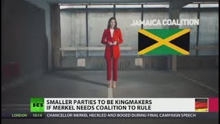 'Jamaica Coalition': Smaller parties to be kingmakers if Merkel needs alliance to rule - RUSSIATODAY