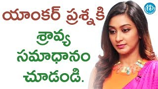 Actress Shravya About Director Pratheek || #Vanavillu || Talking Movies With iDream - IDREAMMOVIES