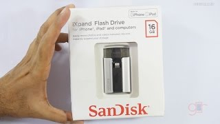 SanDisk iXpand a Flash Drive for iPhone & iPad's