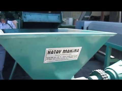 Mangal ve Nargile kömürü makinaları