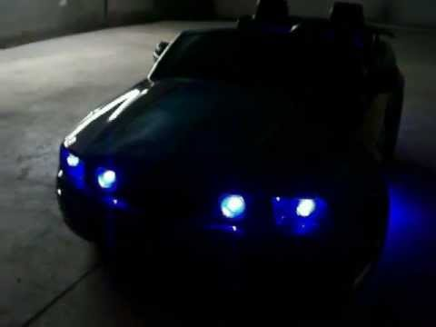 Vulgar Display Of Power Wheels Custom Gun Metal Grey Mustang part 2