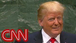 Trump brags at UN, crowd laughs - CNN