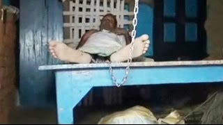 Father and son, mentally ill, kept chained for 20 years - NDTVINDIA