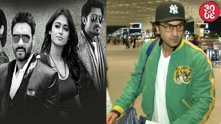 Ajay-Ileana's Love Scenes From 'Baadshaho' To Be Chopped | Ranbir Leaves For New York For His Next - ZOOMDEKHO