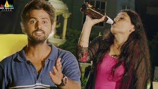 Sameeram Movie Scenes | Drunk Amritha Sharing Her Secrets to Yashwanth | Latest Telugu Movie Scenes - SRIBALAJIMOVIES