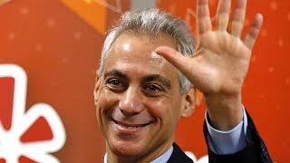 «رام ايمانويل» عمدة شيكاغو للمرة الثانية