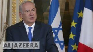 Netanyahu in Paris: We will not be lectured by Erdogan - ALJAZEERAENGLISH