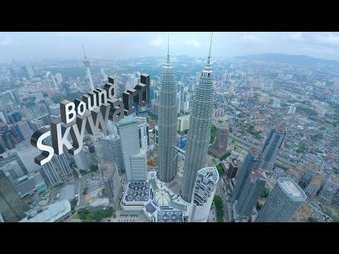 Kuala Lumpur Skyscrapers- Aerial Videos Malaysia