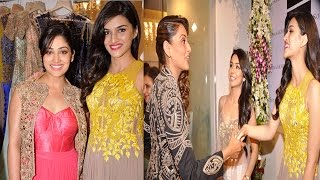 Kriti Sanon, Bipasha Basu and Yami Gautam at Sonaakshi Raaj's store launch - EXCLUSIVE