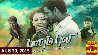 Paayum Puli Special : Exclusive Live Call-in with Actor Vishal 30-08-2015 Thanthi TV Show