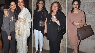Sanjay Kapoor Holds A Special Screening For Khoobsurat - THECINECURRY