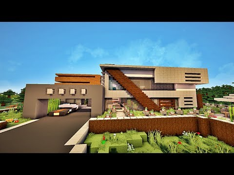 Related video - Minecraft comment faire une maison de luxe ...