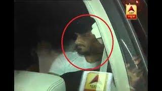 Cricketer Harbhajan Singh meets bookie Vishal Karia, tries to evade media - ABPNEWSTV