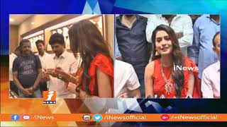 RX 100 Actress Payal Rajput Inaugurates BMR Jewellery Shop in Ongole | iNews - INEWS