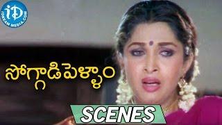 Soggadi Pellam Movie Scenes    Mohan Babu, Brahmanadam Comedy Scene at Lunch - IDREAMMOVIES