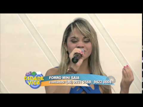 Banda forró Mini Saia anima o programa Cidade Viva