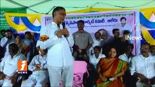 Minister Harish Rao Lunches Rythu Bazar In Aler | Nalgonda | iNews - INEWS
