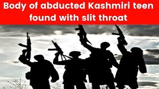 Video: Kashmiri youth's throat slitted by militants - NEWSXLIVE