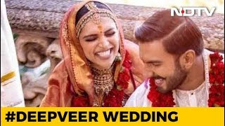Deepika And Ranveer Post Dreamy New Pics Of Wedding And 'Mehendi' - NDTV