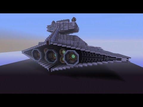 Minecraft Xbox Star Destroyer Star Wars World Tour Part 1