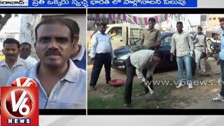 LB Nagar Police participated in Modi Swachh Bharat Abhiyan - V6NEWSTELUGU