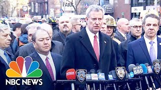 NYC Mayor Bill De Blasio: 'This Was An Attempted Terrorist Attack' | NBC News - NBCNEWS