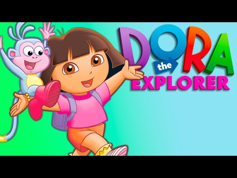 Dora The Explorer Full Length English Episode for Children | Barnyard Buddies 2014