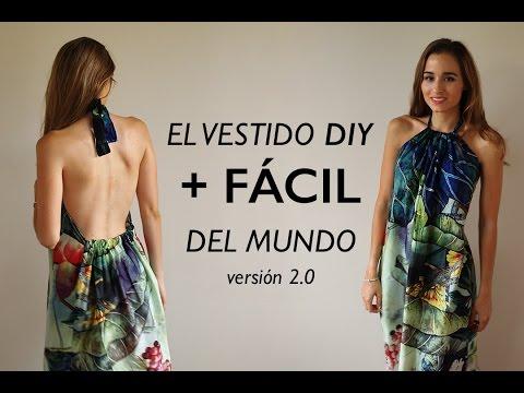 DIY | El vestido mas fácil del mundo 2.0 (listo en 1/2 hora)