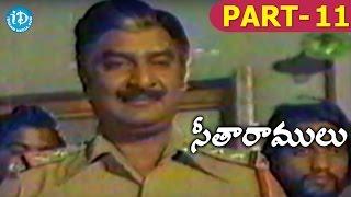 Seetha Ramulu Full Movie Part 11 || Krishnam Raju, Jaya Prada || Dasari Narayana Rao || Satyam - IDREAMMOVIES