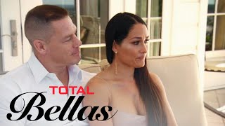 Nikki Bella Overwhelmed Waiting for Her Engagement Party | Total Bellas | E! - EENTERTAINMENT