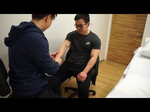 Wrist Pain Treatment for Instant Pain Relief with Acupuncture (Powerlifter)