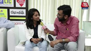 Interview with Mehuli Gosh | Mind Rocks 2018 | - AAJTAKTV