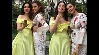 Kajal Agarwal & Tamanna Fun With Each Other At Photo Shoot : Unseen Video - RAJSHRITELUGU
