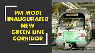 PM Modi Inaugurates Delhi Metro's Mundka-Bahadurgarh Section - ZEENEWS