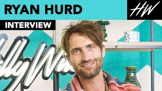 Ryan Hurd Gushes Over Maren Morris & Talks Working With Luke Bryan!! | Hollywire - HOLLYWIRETV